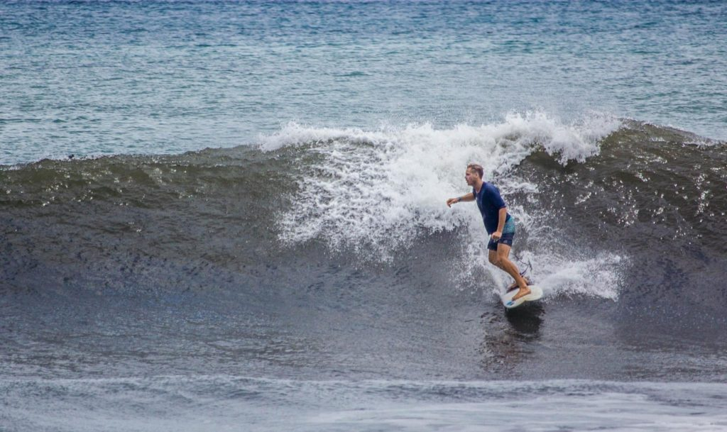 Seamus Pettigrew- Surfing with Peconic Water Sports in Sag Harbor, Long Island, New York