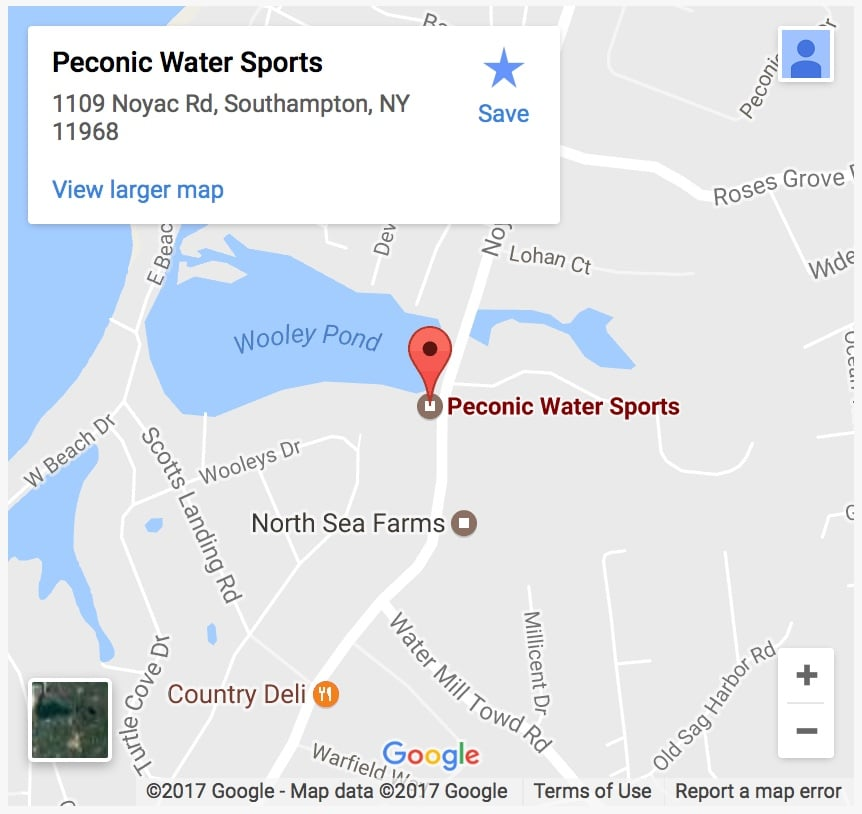 Peconic Water Sports Southampton Jet Ski Rental Location