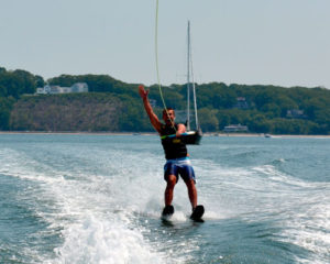 Water Skiing with Peconic Water Sports in the Hamptons near Shelter Island, NY
