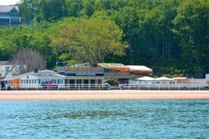 Sunset Beach Hotel on Shelter Island, New York