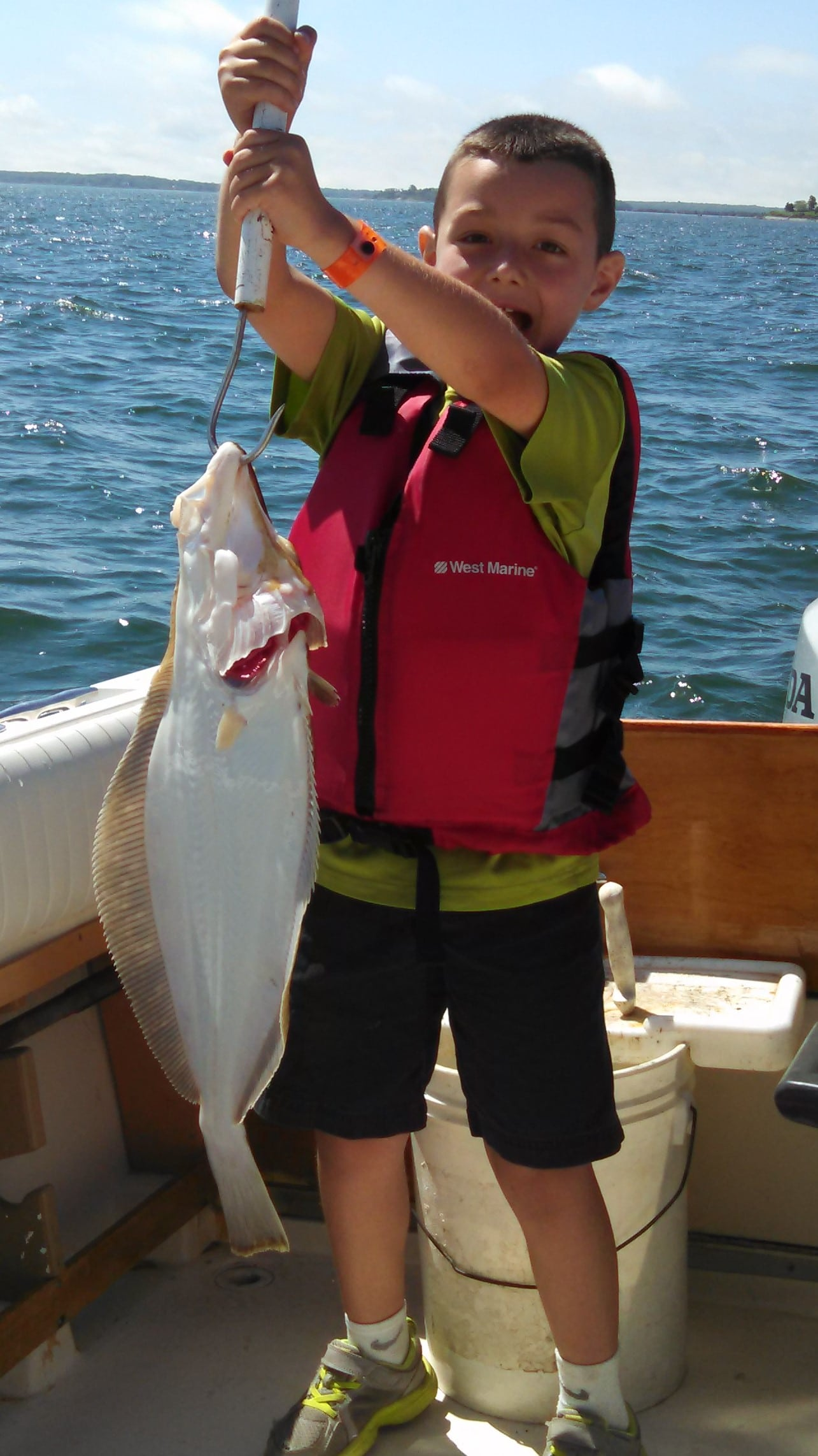Fishing Charter with Peconic Water Sports in Greenport, NY on the North Fork of Long Island