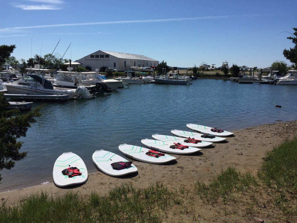 Stand Up Paddle Board Rentals with Peconic Water Sports in Southold, New York on the North Fork of Long Island