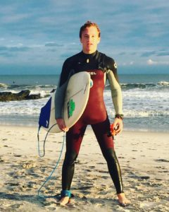 Jake Weinstein - Surfing with Peconic Water Sports near East Hampton, Long Island, New York