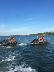 Jet Skiing in the Hamptons with Peconic Water Sports Southampton