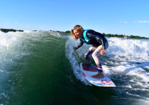 Wakesurfing in Sag Harbor with Peconic Water Sports Melissa Gabrielsen